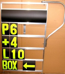 Pit Board 5 rows GP XL